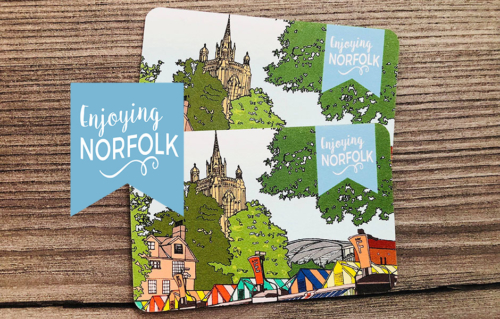 Enjoying Norfolk Discount Card: Couple pair.