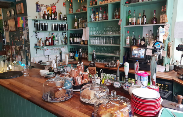 Franks Bar in Norwich.