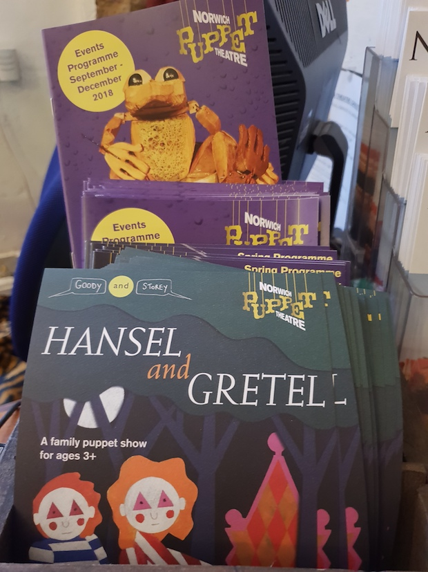 Hansel and Gretel Norwich Puppet Theatre