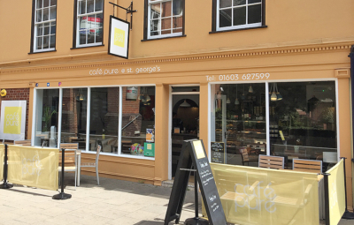 Café Pure @ St George's in Norwich city centre.