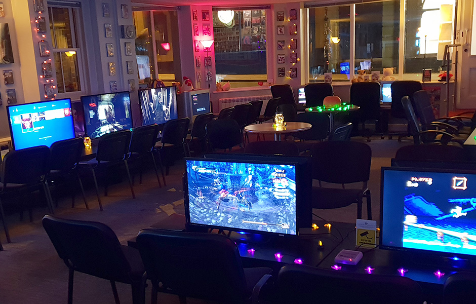 One Life Left Norwich Gaming Cafe.