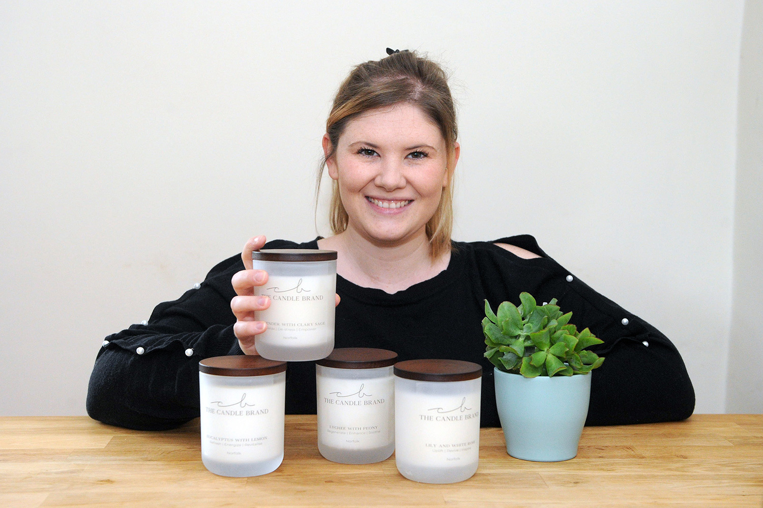 Christina Brand of The Candle Brand.