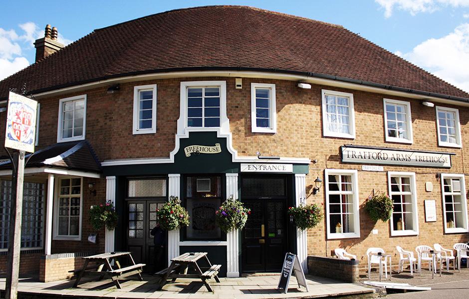 The Trafford Arms pub in Norwich.