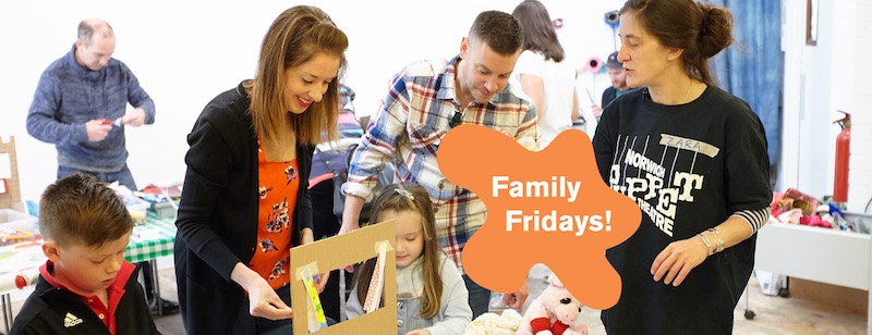 Family Fridays at Norwich Puppet theatre Summer Holidays