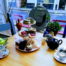 Afternoon Tea ta The Hungry Cat Vegan Cafe in Harleston.