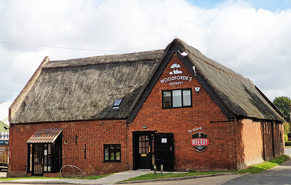 Woodforde's Brewery in Norfolk.