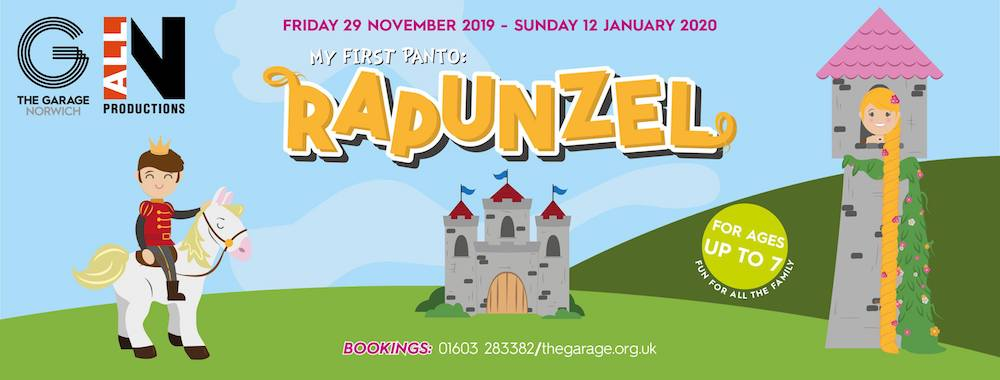 My First Panto: Rapunzel for 7 and under at The Garage Norwich