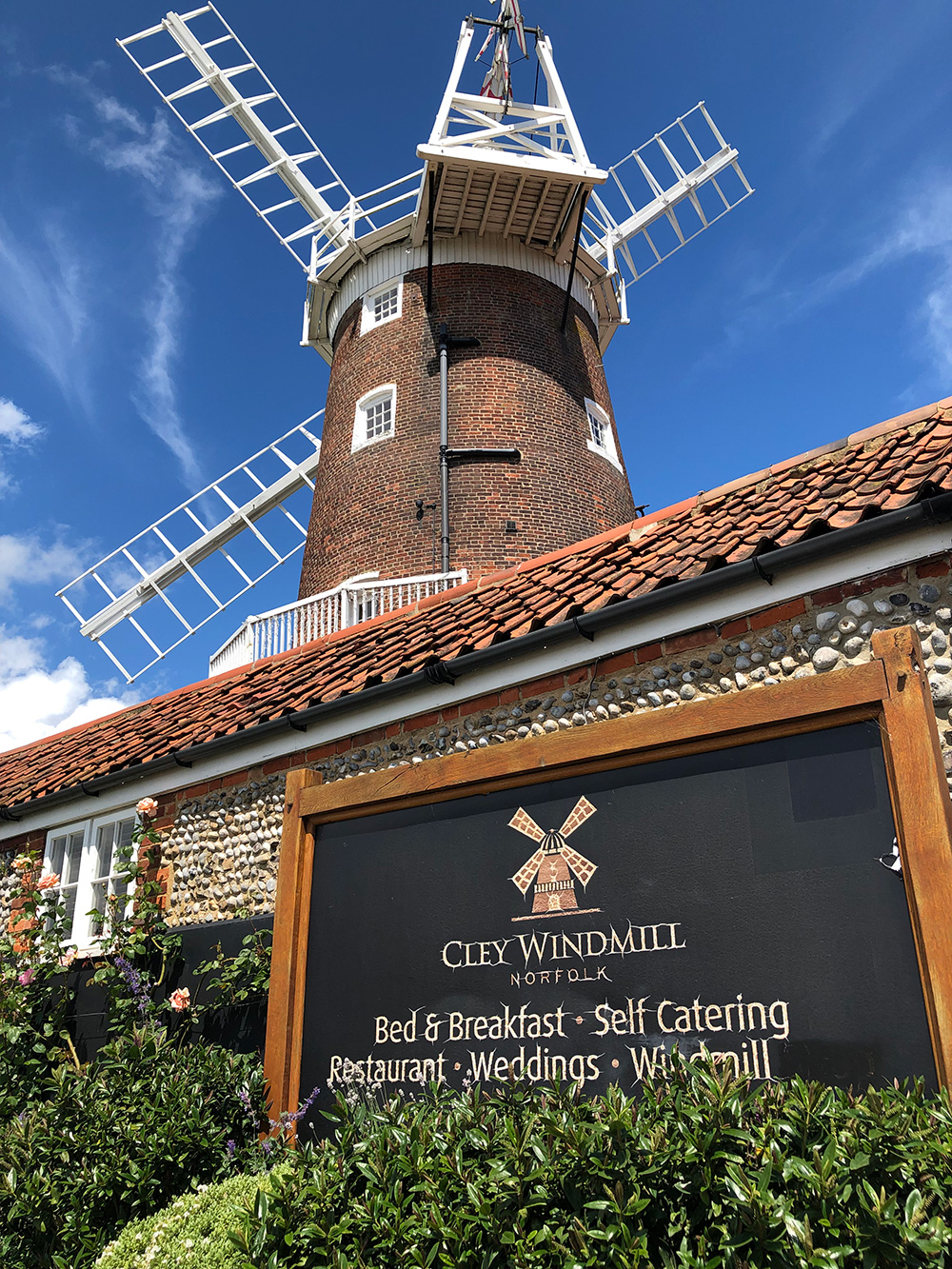 Cley Windmill in Norfolk.