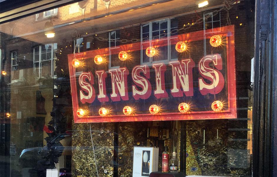 Sinsins in Norwich.