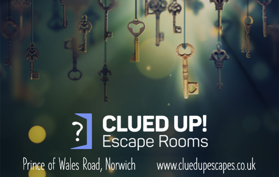 Clued Up! Escape Rooms in Norwich.