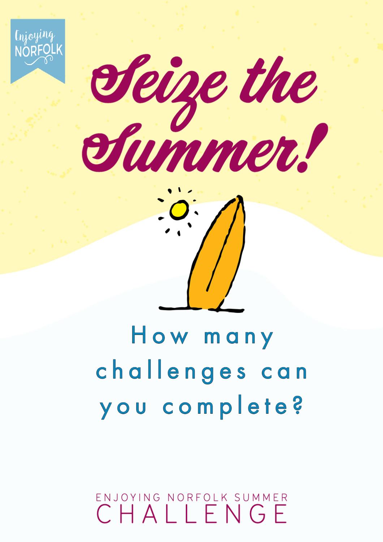 Kids Summer Challenge Activity Sheets.