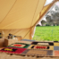 Norfolk Bell Tent hire with The Little Beach Bell Company.
