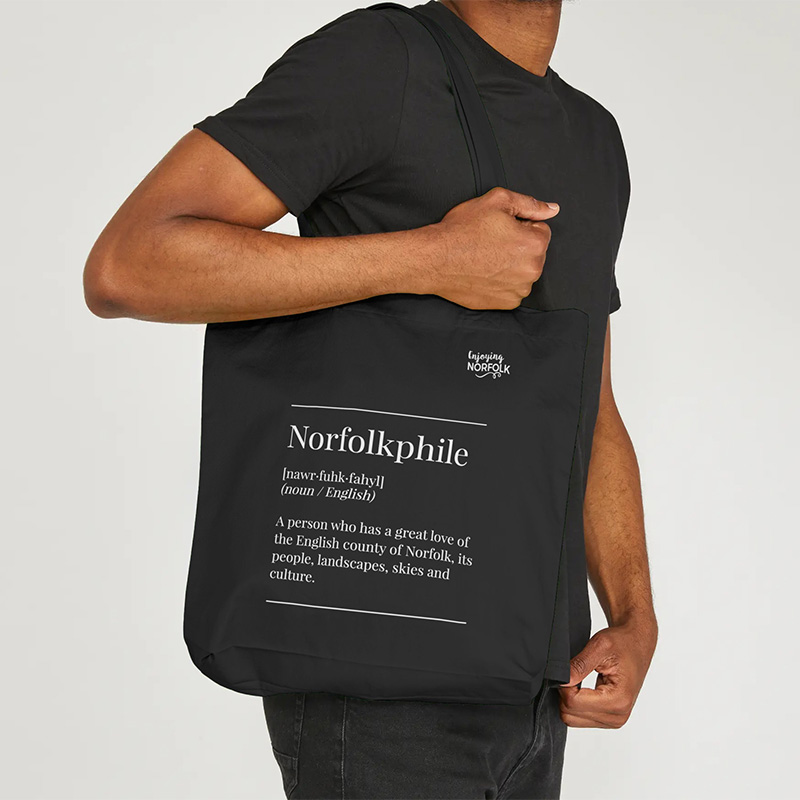 Norfolkphile Organic Cotton Tote Bag.
