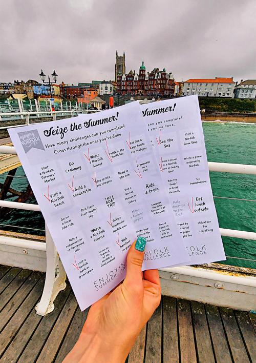 75 Norfolk Summer activities checklist.