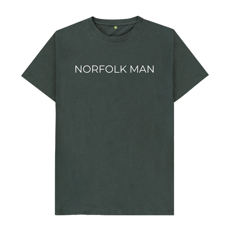 Norfolk Man 100% Organic Cotton T-Shirt.